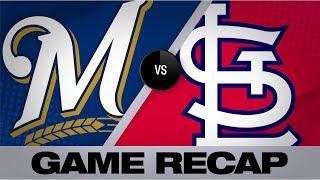 Braun's late slam lifts Brewers past Cards   Brewers-Cardinals Game Highlights 9/15/19