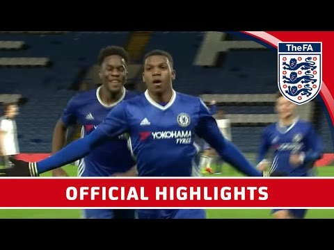 Chelsea 7-1 Tottenham Hotspur - 2016/17 FA Youth Cup semi-final Second Leg   Official Highlights