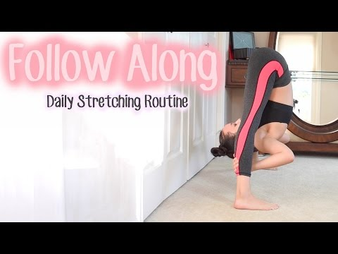 Daily Stretching Routine   FOLLOW ALONG