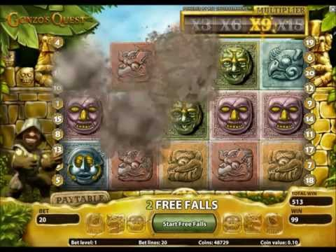 €200 Welcome Bonus to play Gonzo's Quest at EuroSlots.com