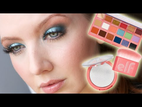 New Drugstore Makeup from e.l.f. Cosmetics! | Retro Paradise Collection Review
