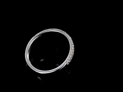 Browns Family Jewellers 2 Row Diamond Wedding Band
