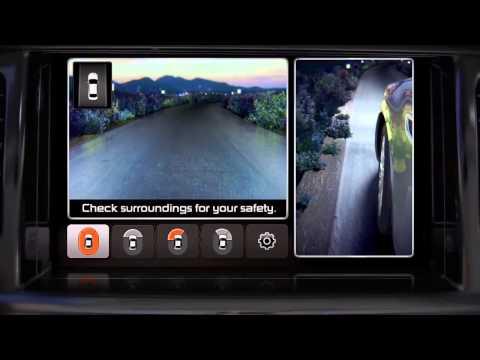 2015 Kia K900 Rear Car Sensors and Surround View Monitor