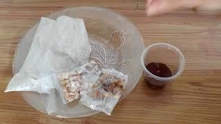 Cách ăn bánh tráng me Tây Ninh