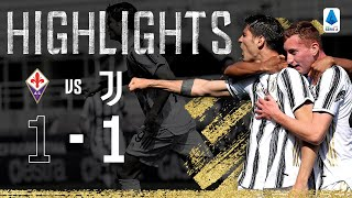 Fiorentina 1-1 Juventus | Substitute Morata Scores Stunning Goal | Serie A Highlights