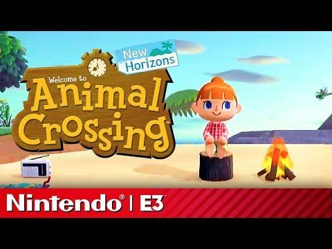 Animal Crossing New Horizons Reveal Presentation | Nintendo E3 2019