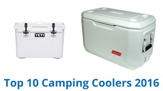 10 Best Camping Coolers 2016