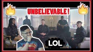 [OFFICIAL VIDEO] New Rules x Are You That Somebody? - Pentatonix REACTION! (PENTAHOLIC IN THE HOUSE)