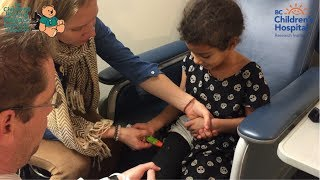 Watch this 5 year old have anaphylaxis and use her EpiPen®