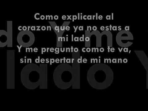 J Alvarez - Como Explicarle (Letra Oficial)★REGGAETON ROMANTICO 2012★/