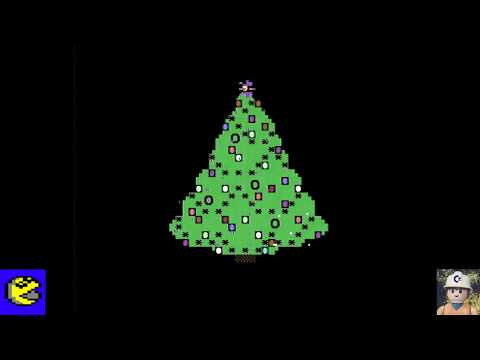Commodore 64 Christmas Demo - Commodore 64 real