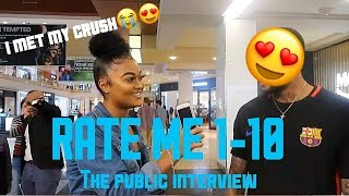 RATE ME 1-10| PUBLIC INTERVIEW|🤭🔥