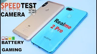 Redmi Note 5 pro vs Real me 2 Pro -#Speed Test#Camera#BAttery Drain Charge