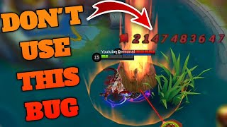HIGHEST DAMAGE IN MOBILE LEGENDS | DON'T USE THIS BUG