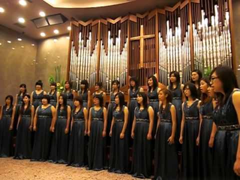 中山女高校友合唱團   艋舺教會演出I  2009/10/18