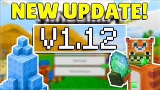 MINECRAFT PE/BEDROCK 1.12 API MODDING UPDATE! - OFFICIALLY RELEASED!