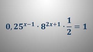 Eksponentna enačba 8