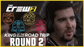 The Crew 2: LIVESTREAM - King of the Road Trip - Round 2   Ubisoft [NA]