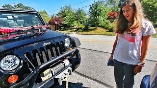 She Crashed My Jeep