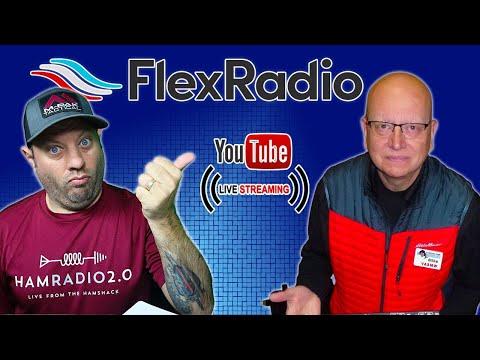 FlexRadio SmartSDR and SmartLink Lunchtime Livestream