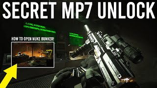 Call of Duty Warzone - How to unlock the Secret MP7 and Nuke Bunker! ( EASTER EGG )