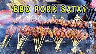 SPICY BBQ Ribs & INSANE BBQ Pork Satay in Bali Indonesia