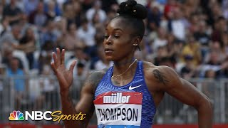 Elaine Thompson cruises to 4th straight Diamond League win in 100m | NBC Sports