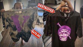 I Destroyed My Dads Expensive Designer Shirt 😳