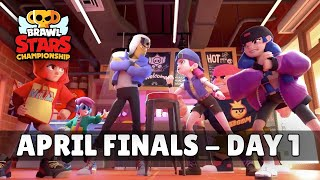 Brawl Stars Championship 2020 - April Finals - Day 1