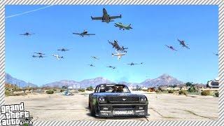 GTA 5 MOD'S - Angry Planes, Flashback Power & Deathstroke VS Incredible Hulk!
