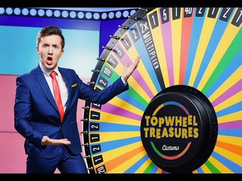 Topwheel Treasures - Casumo Live Casino