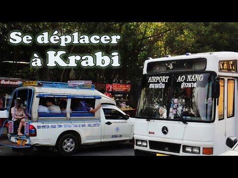 se déplacer en transports à krabi