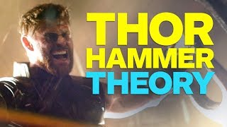 Infinity War Trailer's Big Hint About Thor's Hammer