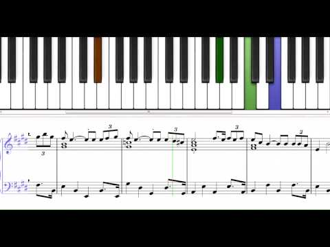Mr Lonely a nice melody for piano level 5
