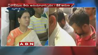 TRS leaders hand in Srinivas assissnation, says DK aruna..