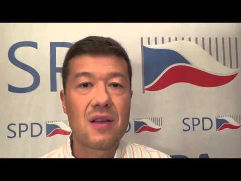Tomio Okamura: Obama, invaze Turků a Ukrajinců do Evropy a hrozící sociální výbuch na Ostravsku