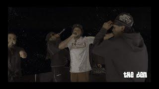 Frisco feat. Skepta, Jammer, JME, Shorty - 'Red Card' live on The Den