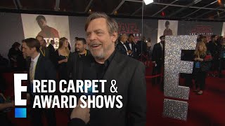 "Mark Hamill Remembers Carrie Fisher at ""Star Wars"" Premiere 