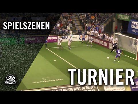 Hertha BSC - Iceland Legends (AOK Traditionsmasters, Gruppenphase) - Spielszenen | SPREEKICK.TV