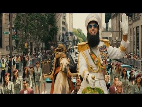 Remember Borat?  Here's Sasha Cohen's New One - Trailer - The Dictator - Very Funny and Got Good Reviews!
