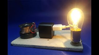 New Science Free energy generator - Easy experiment Tech 2018