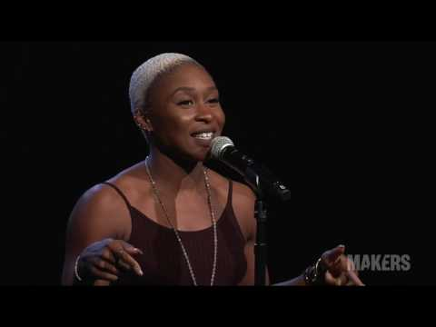 """Cynthia Erivo Performs """"I'm Here"""" From """"The Color Purple""""   2017 MAKERS Conference"""