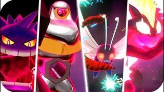 Pokémon Sword & Shield : All Gigantamax Moves (HQ)