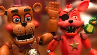 FNAF 6 FUNKO ACTION FIGURES || Review And Unboxing