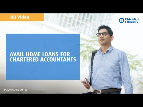 Avail Home Loan for CA from Bajaj Finserv
