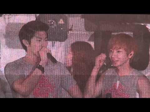 [fancam] 110126 SMTOWN LIVE IN TOKYO_도쿄돔공연 발표(윤호 YUNHO)