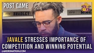 Lakers Post-Game Videos: Javale Stresses Importance Of Competition And Winning Potential