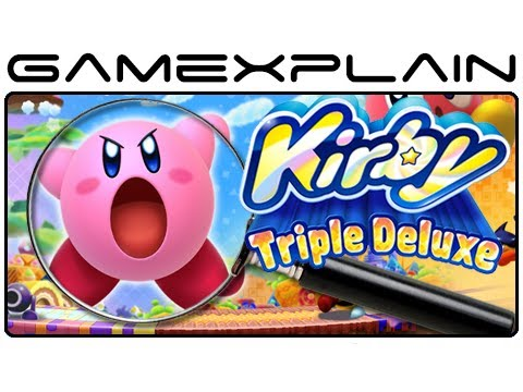 Kirby Triple Deluxe - Screenshot Analysis   Your Ideas (Secrets & Hidden Details) - Smashpipe Games Video