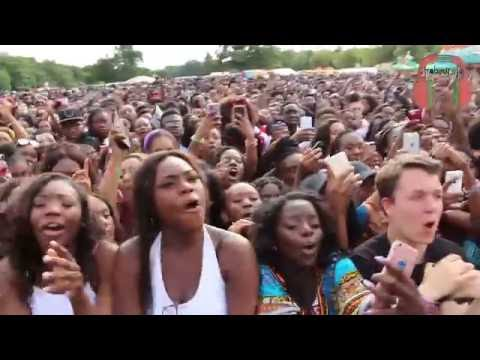 Mr Eazi & Eugy Official - Akwaaba UK's Ghana Party in the Park Part 1