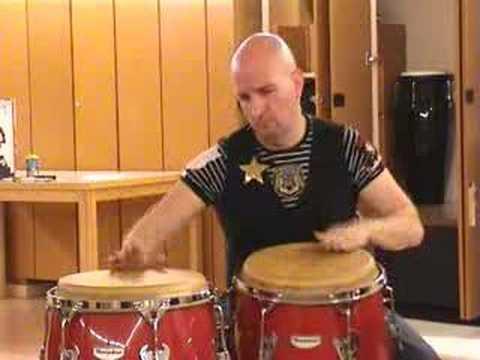 Pakito Baeza: La PLENA - Ritmo basico e improvisaciones
